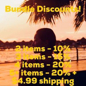 ❤️Bundle Discounts!!❤️